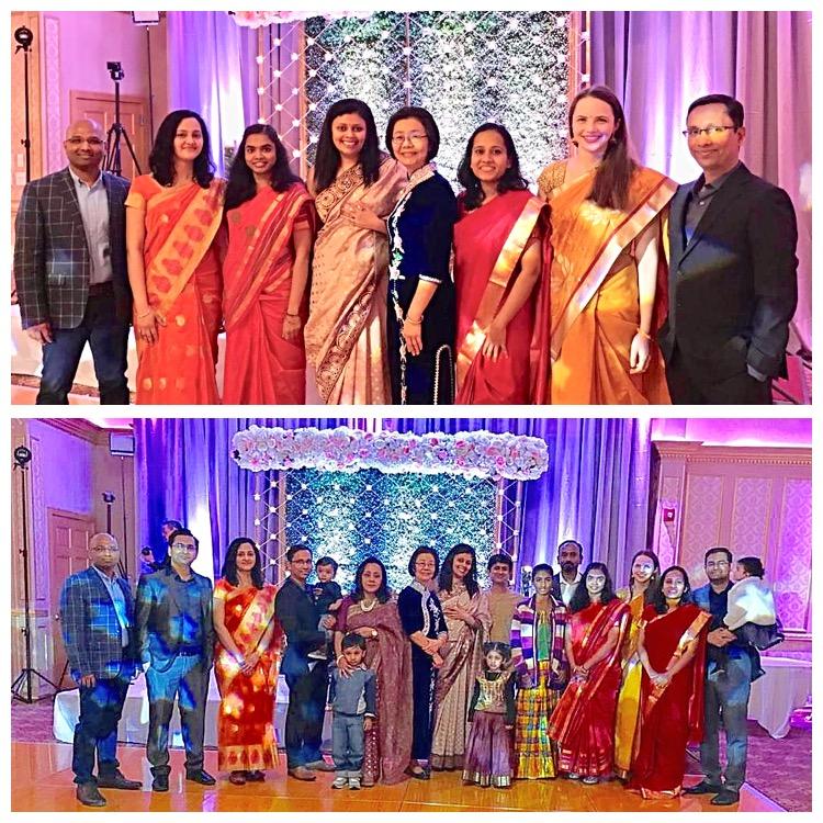 Group at Tas wedding